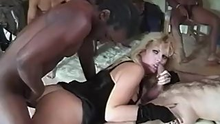 90's Freaky GangBang with Kimberly Kupps