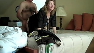 Horny wife used hard by her neighbor on vacation