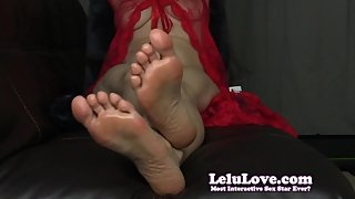 Lelu Love-Fresh Pedicure Feet Soles JOI Closeups
