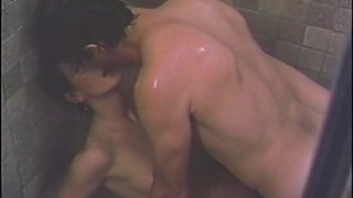 Sharon's Sexy Shower Scene