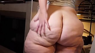 Bbw Kourtney Cakes Ass worship