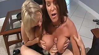 Rachel Steele MILF345 - MILF catches her stepnephew with her Friend part2