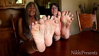 Caught Staring At Our Soles with LeiLani #JOI #MILF