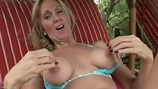 Awesome MILF nipples (solo)