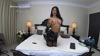 latex and extreme high heels fuck machine - anisyia livejasmin in 4k @60fps
