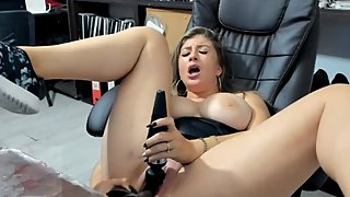 Milf teacher squirts in school