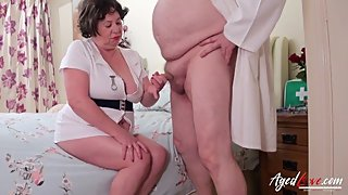 AgedLovE Busty Nurse Hardcore with Nasty Doctor