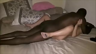 Amateur babe fucked hard and creamped by BBC