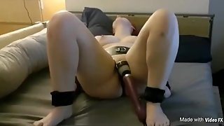 Bound and made to have multiple orgasms