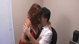 Rachel Steele CustomJHoge02 - Red MILF secretary surprised by Santa