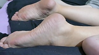 Footfetish Dirty soles