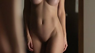 Incredibly Sexy Woman in a Silk Dress Gets Fucked & Creampied - Short Video