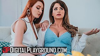 Digital Playground - Lesbian housewives Emily Addison, Lacy Lennon cheat