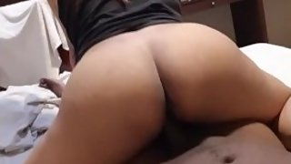 Cheating slut gets freaky on black meat