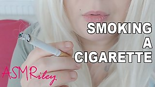 FullVid: Smoking a cigarette, Smoking Fetish
