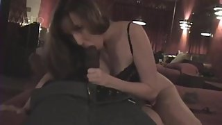 trailer trash wife takes another huge black cock