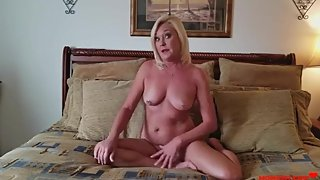 Quickie with MILF- STEPSISTER While Husband is at the Store