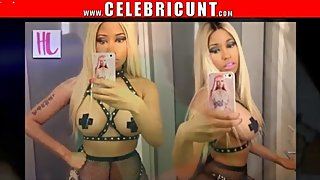 Nicki Minaj Big Tits Celebrity Plus Bonus Cum Selfie