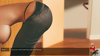 Come inside - 3D adult game (Lindsey romance path) ep.1