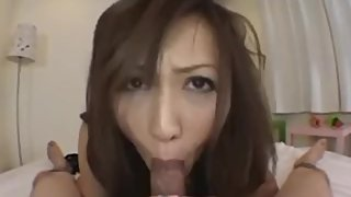 Cute Japanese Sucking Cock
