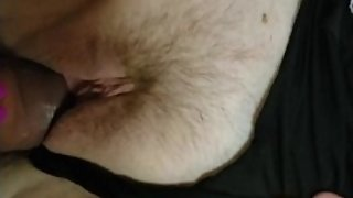 Amateur beautiful women big tits fucked in missionary with panties pov