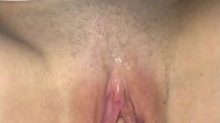Milfs tight shaved creamy pussy played with & finger fucked until ready 4 D