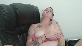 Sexy Milf Smokin a 120, Dirty Talking, Beatiful Agony