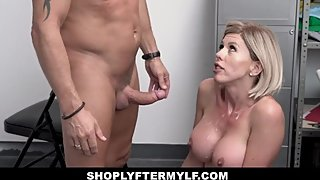 ShopLyfter MYLF - Sexy Shoplifting Milf Gets Caught And Fucked Hardcore