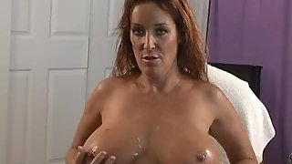 Rachel Steele MILF11 - Spying on best friend's mom