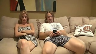 Delicious american stepmom gets rough drilled by her real stepson
