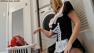 Busty French Maid
